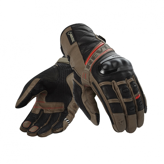 레빗 REV'IT DOMINATOR GTX GLOVE SAND/RED