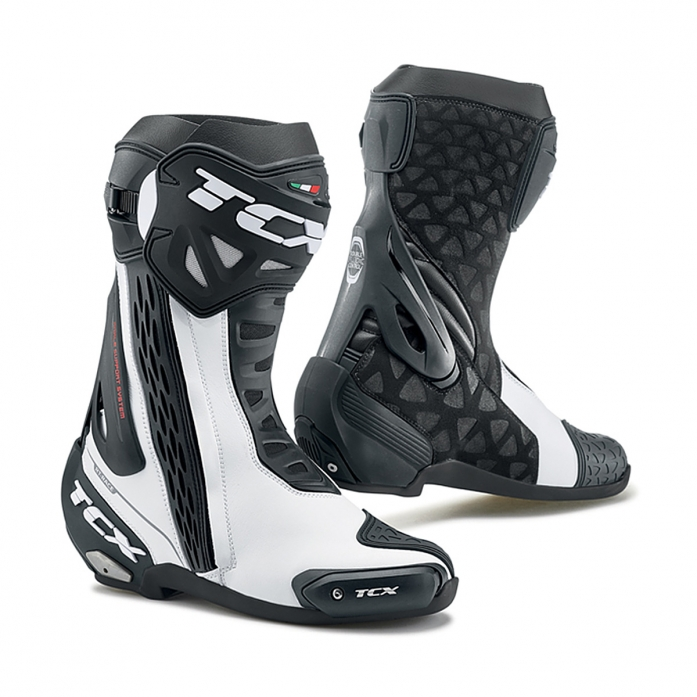TCX RT-RACE BOOTS (WHITE)