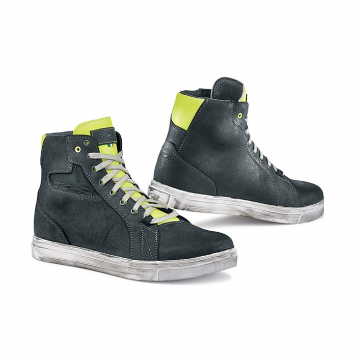TCX STREET ACE LIGHT BLACK/YELLOW FLU