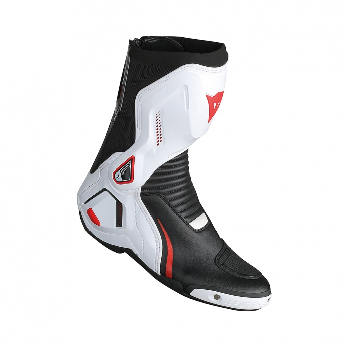 COURSE D1 OUT BOOTS BLACK/WHITE/RED-LAVA
