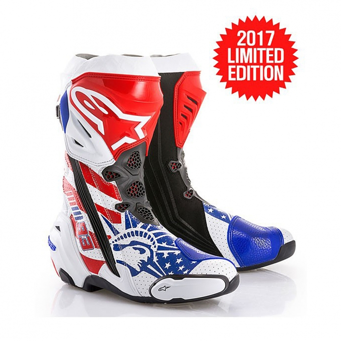REPUBLIK SUPERTECH R BOOTS WHITE/RED/BLUE