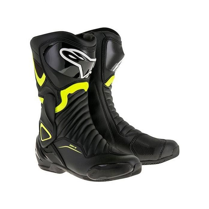 SMX-6 V2 BOOTS BLACK/YELLOW FLUO