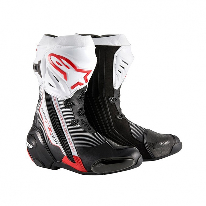 SUPERTECH R BOOTS BLACK/RED/WHITE