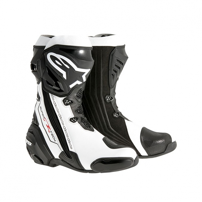 SUPERTECH R BOOTS BLACK/WHITE