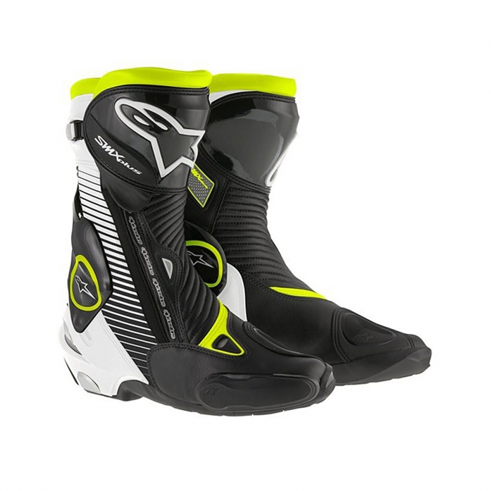 SMX PLUS BOOTS /BLACK/WHITE/YELLOW FLUO