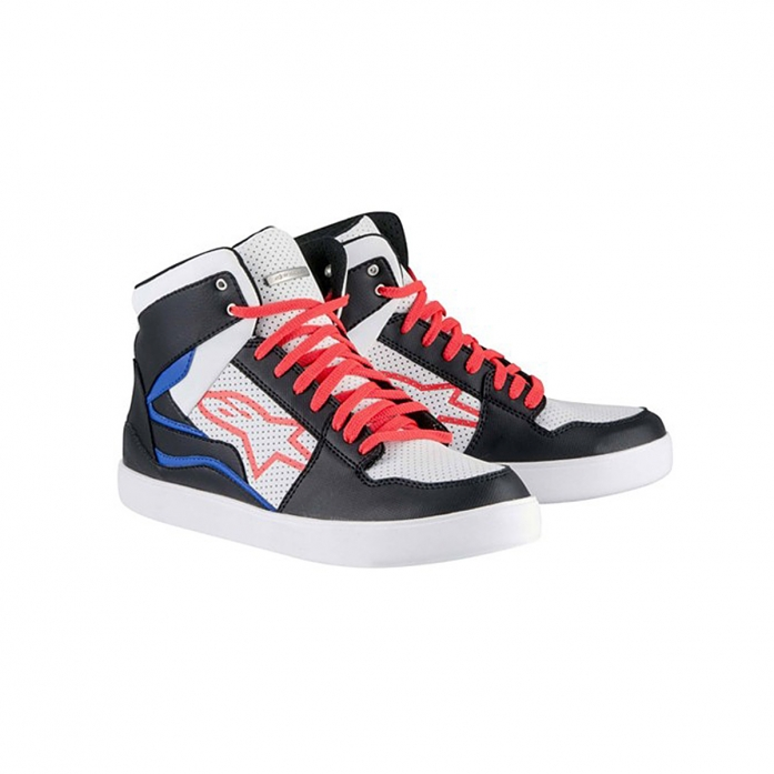 STADIUM RIDING SHOES BLACK/WHITE/RED