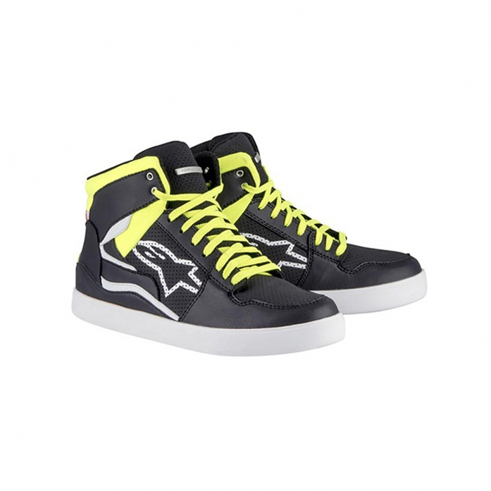 STADIUM RIDING SHOES BLACK/YELLOW FLUO