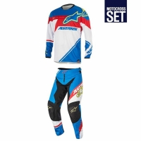 RACER SUPERMATIC SET BLUE/RED/WHITE