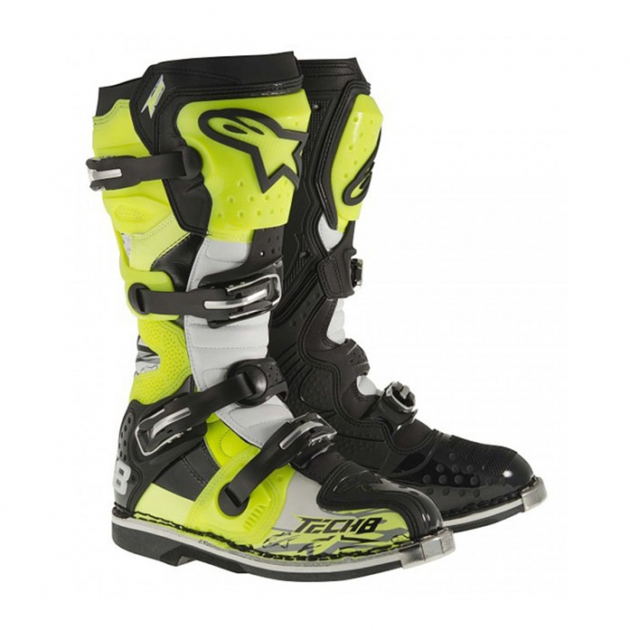 TECH 8 RS YELLOWFLUO/BLACK/WHITE
