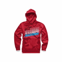 알파인스타즈 HASHED PULLOVER FLEECE RED