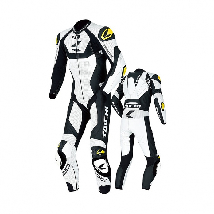 NXL304 GP-WRX R304 LEATHER SUIT WHITE