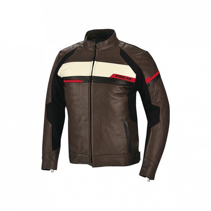 RSJ711 INDY LEATHER ALL SEASON JACKET BROWN