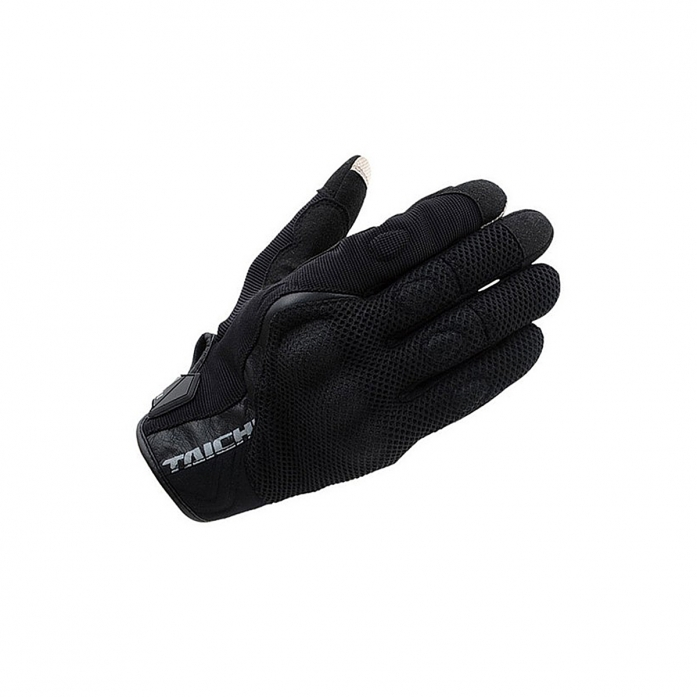 RS타이치 RST431 RUBBER KNUCKLE MESH GLOVE BLACK