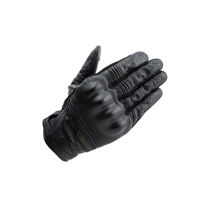 RS타이치 RST434 STEALTH LEATHER MESH GLOVE BLACK