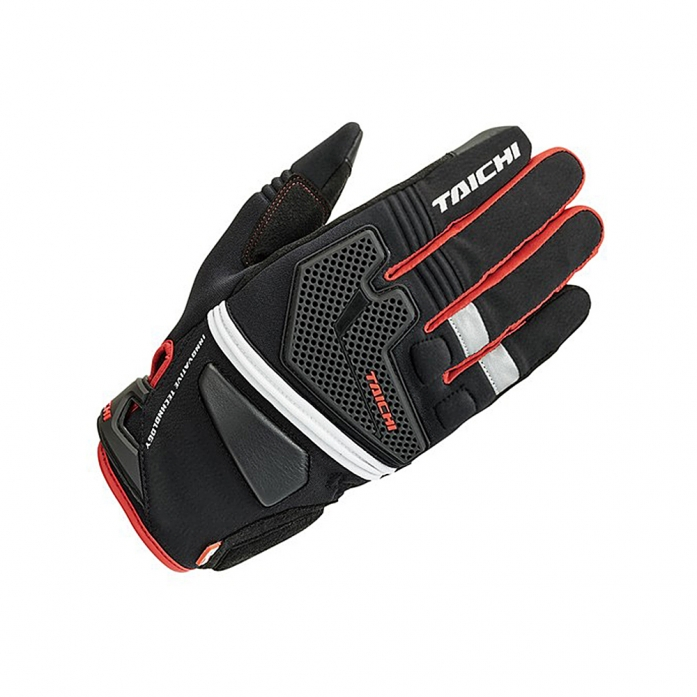 RS타이치 RST440 OUTDRY BLITZ RAIN GLOVE BLACK/RED