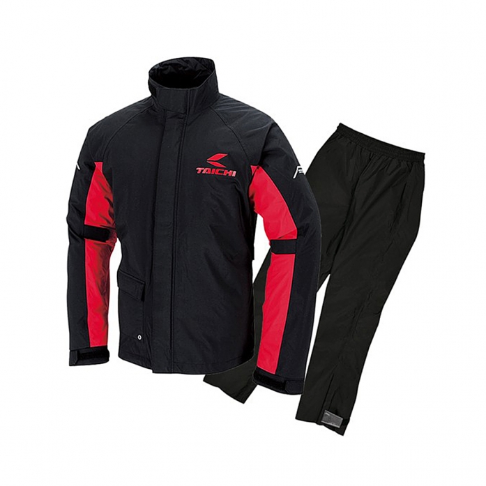 RSR045 DRYMASTER RAIN SHUIT BLACK/RED