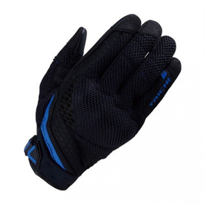 RS타이치 RST447 RUBBER KNUCKLE MESH GLOVE  B/BLUE