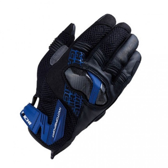 RS타이치 RST448 ARMED MESH GLOVE BLUE