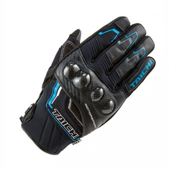 RS타이치 RST631 CARBON WINTER GLOVE BLK/BLUE