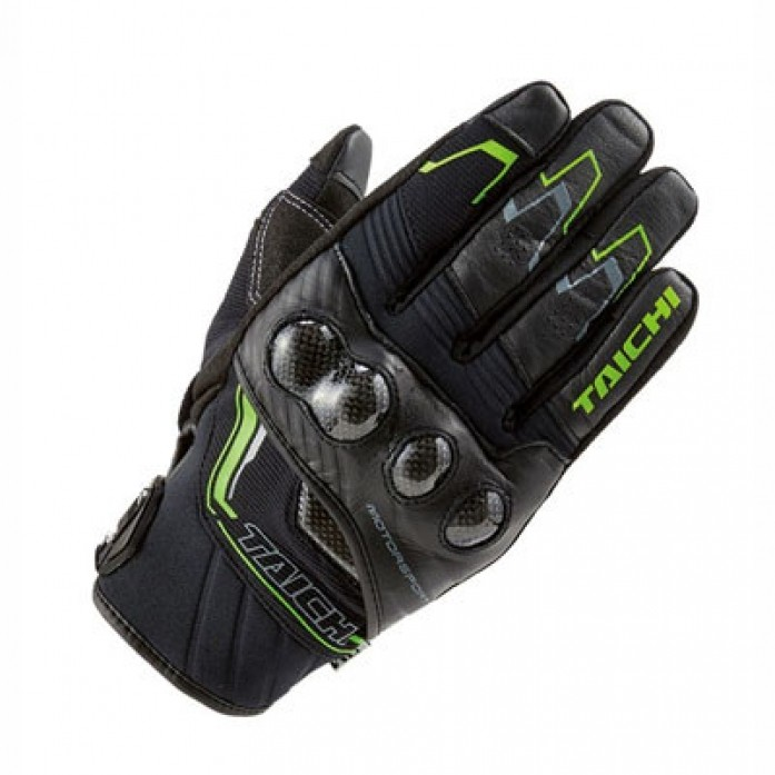 RS타이치 RST631 CARBON WINTER GLOVE BLK/GREEN
