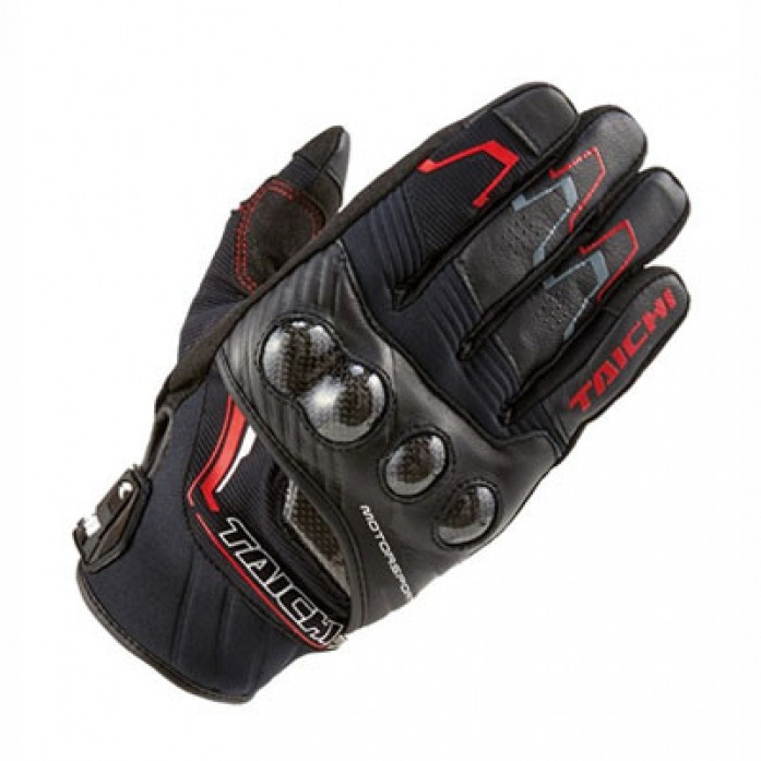RS타이치 RST631 CARBON WINTER GLOVE BLK/RED
