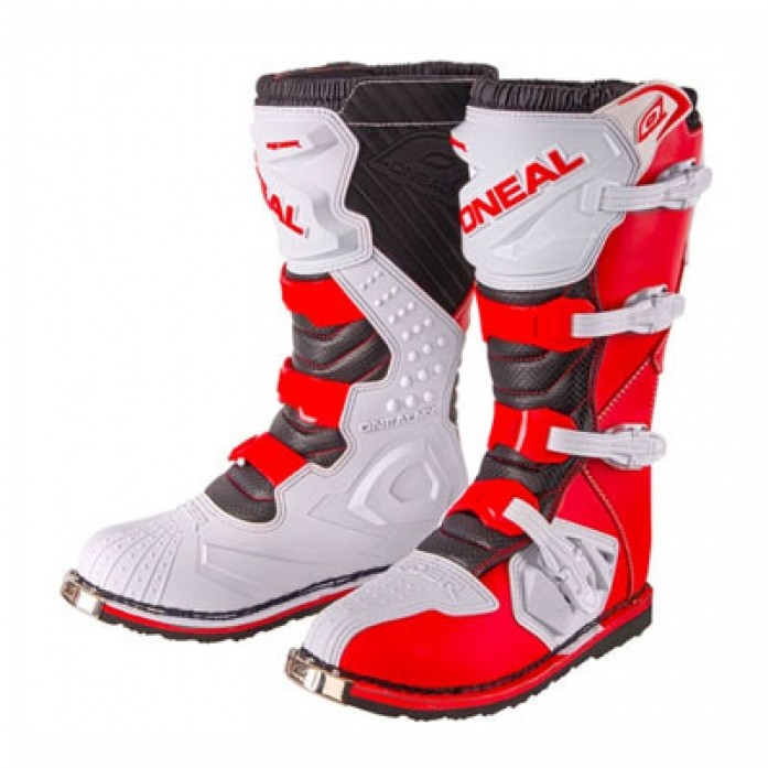 O'Neal 2019 Rider Boots RED/WHITE(오닐 라이더 부츠.레드/화이트)