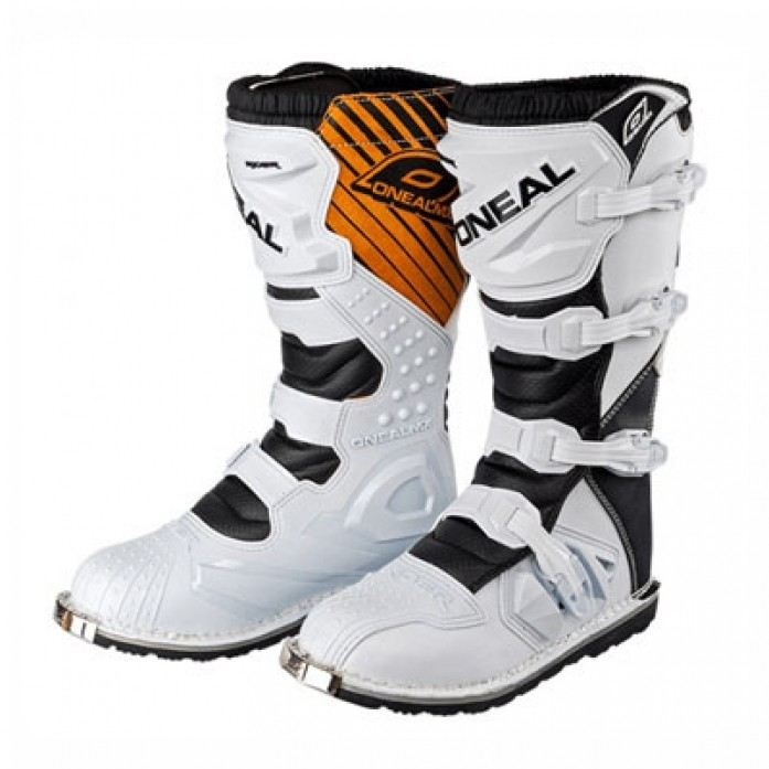 O'Neal 2019 Rider Boots WHITE/BROWN(오닐 라이더 부츠.화이트/브라운)