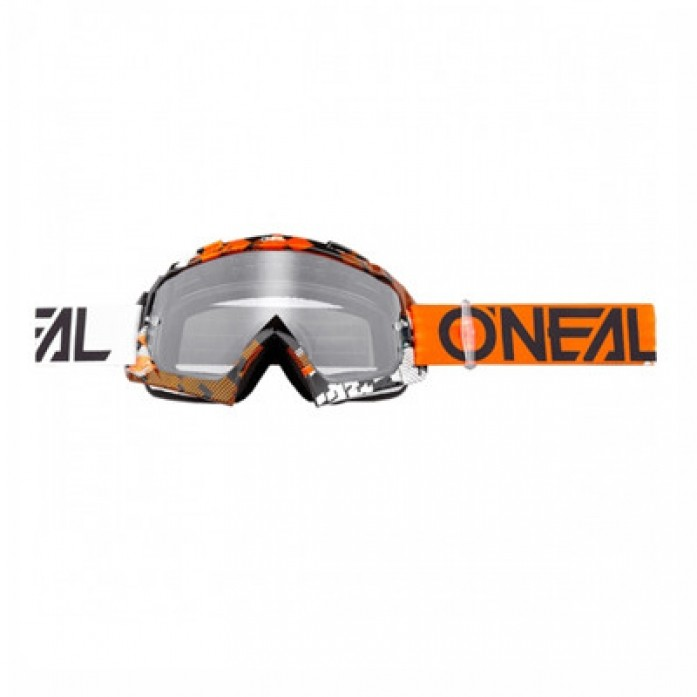 O`Neal 2019  B-10 Goggle ORANGE/WHITE(오닐 비- 텐 고글)