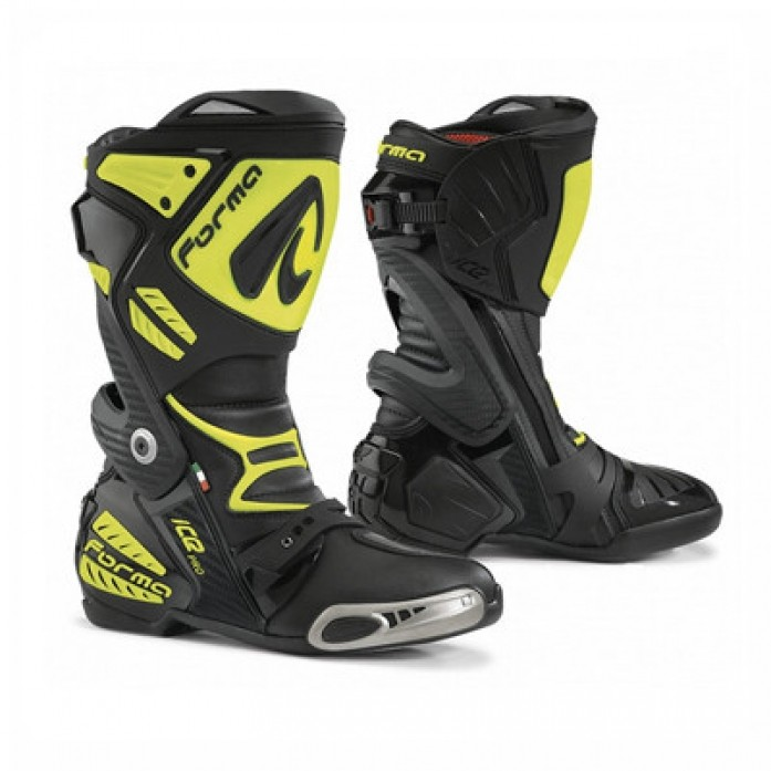 FORMA ICE PRO RACING BOOTS -블랙-옐로우