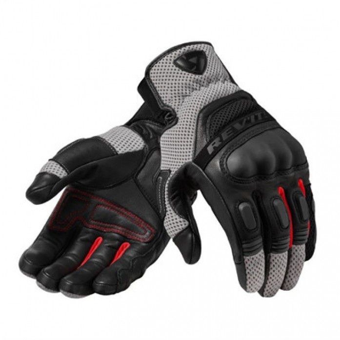 레빗 REV'IT DIRT3 GLOVE BLK/RED
