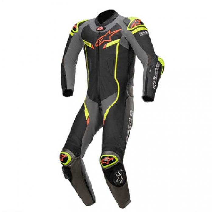 알파인스타 GP PRO V2 1PC LT SUIT B/M.GRAY/YF