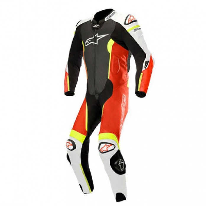 알파인스타 MISSILE LEATHER SUIT Tech-Air® Compatible B/W/RF/R