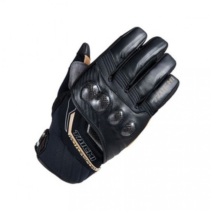 RS타이치 RST636 CARBON WINTER GLOVE BLACK/GOLD
