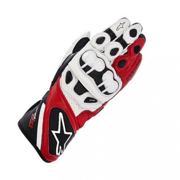 알파인스타즈 13 GP PLUS GLOVE WHITE/BLACK/RED