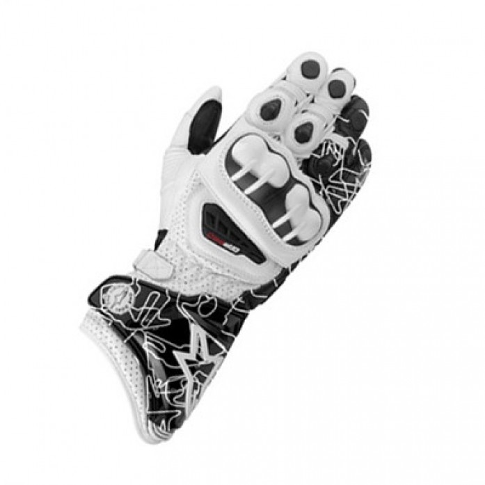 알파인스타즈 13 GP PRO GLOVE WHITE/BLACK TRACK