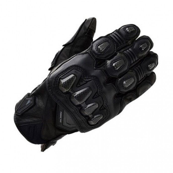 RS타이치 RST422 HIGH PROTECTION LEATHER GLOVE BLACK