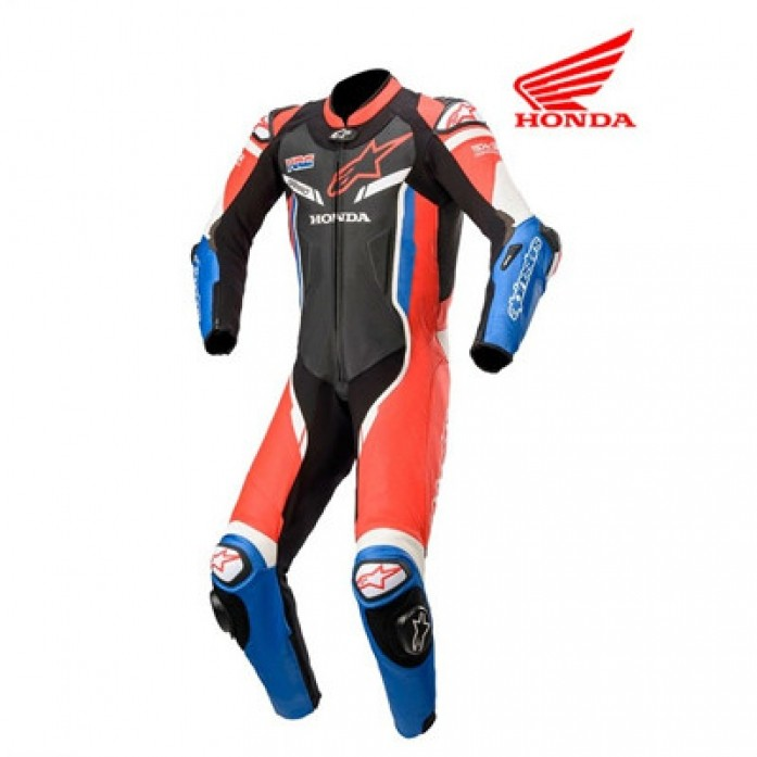 알파인스타 HONDA GP PRO V2 1P LEATHER SUIT Tech-Air® Compatible